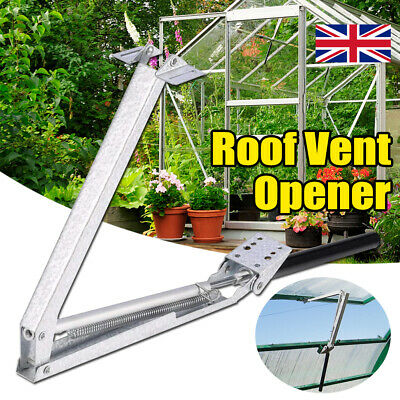 £12.59 • Buy Greenhouse Double Spring Window Opener Temperature Automatic Vent Control Opener