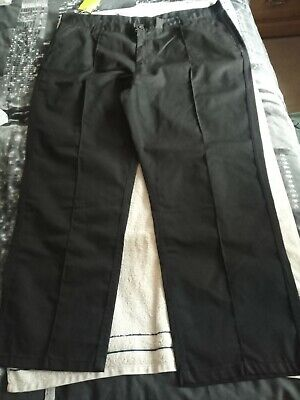 £15 • Buy Mens Black Work Trousers - Size 48r - From Site King