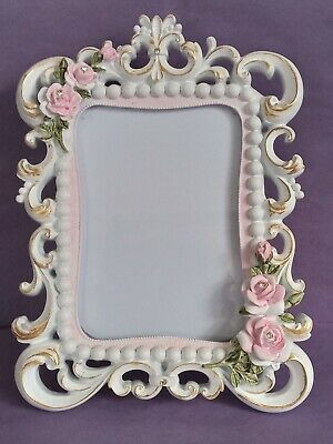 £10 • Buy Beautiful Baroque Rococo Style Photo Frame With Rose Decoration UK Sell Only