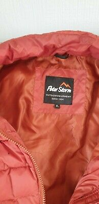 £10 • Buy Mens Peter Storm Jacket Xl Rust Colour Only Worn Couple Of Times