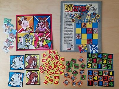 £14.99 • Buy 1970s TOM & JERRY SHREDDIES NABISCO CEREAL PACKET CUT OUT GAMES