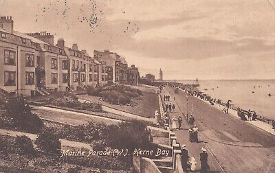 £3 • Buy Marine Parade (w), Herne Bay, Valentine's Series, Posted 1913