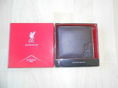 £15 • Buy Official Liverpool FC Leather Wallet    Black Embossed With Liver Bird Logo