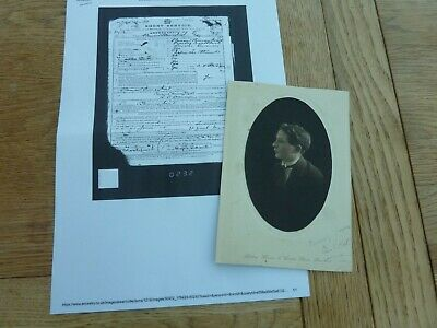 £4.99 • Buy Ww1 Original Photo Clement T Mort Ramc Later Became A Doctor From Swansea