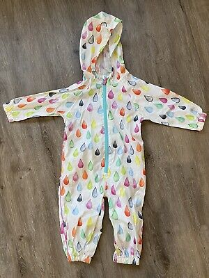 £3.50 • Buy Next Rain Suit Splash Suit All In One Size 1.5-2 Years