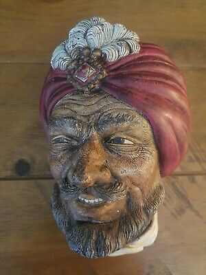 £10 • Buy Bossons Challware Style Legend Head Signed And Copyright -  RAJAH