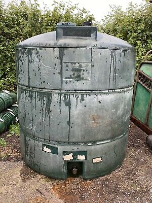 £20 • Buy Large Plastic Diesel Fuel Storage Tank Farm Tractor Agriculture