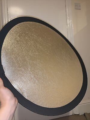 £15.99 • Buy Collapsible Reflector 50cm Sunfire/White Lastolite By Manfrotto Great Condition