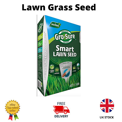 £15.99 • Buy Gro-Sure Fast Growing Lawn Grass Seed RAPID QUICK GROWTH NEW LAWNS PATCH REPAIR