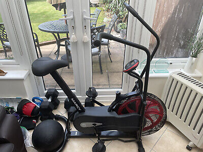 £167 • Buy Marcy NS-1000 Fan Upright Exercise Bike