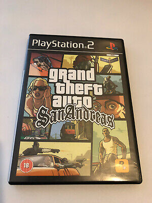 £7.99 • Buy Grand Theft Auto: San Andreas Playstation 2 Ps2 Pal Game Complete With Manual