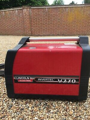 £600 • Buy Welding Plant Lincoln V270 S Inverter Tig/Arc 270amp 3 Phase With Leads.