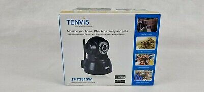 £20 • Buy Tenvis JPT3815W IP Wi-Fi Camera Black Will Be Posted With 2nd Class Mail.