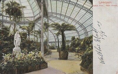 £3 • Buy Sefton Park, Palm House, Liverpool, Pictorial Stationary Co., Ltd., Posted 1909