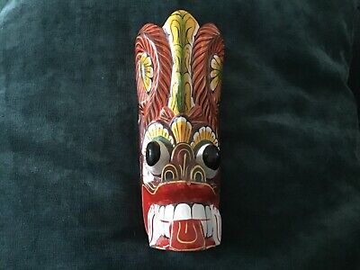 £7 • Buy Colourful Wooden African Face Mask