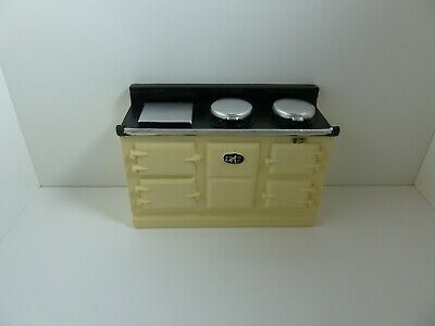 £14.51 • Buy Dolls House Kitchen Appliance Resin Miniature 1:12th Scale Large Cream Aga
