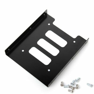 AU6.27 • Buy 2.5  SSD HDD To 3.5  Black Mounting Adapter Bracket Dock Hard Drive Holder