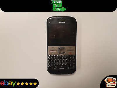 £21.26 • Buy NOKIA E5-00 QWERTY SILVER Telefonino Vintage Funzionante Cellulare In Offerta