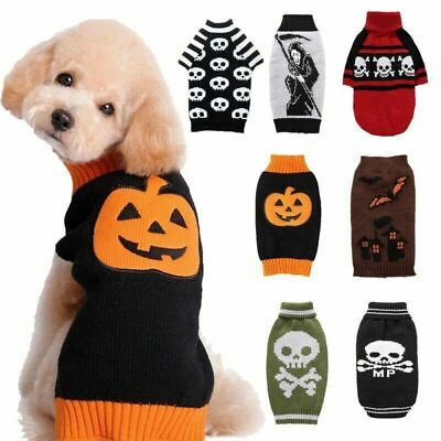 £7.50 • Buy Small Dog T-Shirt Vest Pet Puppy Cat Clothes Coat Top Outfit Costume Festival