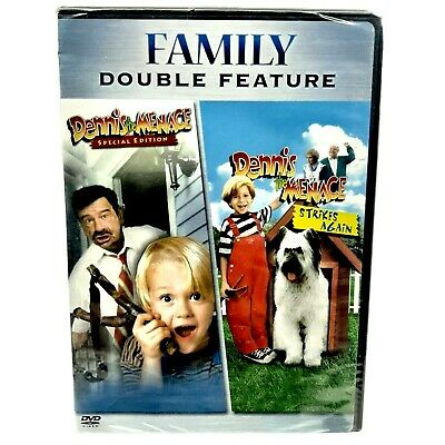 £7.25 • Buy DENNIS THE MENACE 1 & 2 Strikes Again Double Feature (NEW DVD)