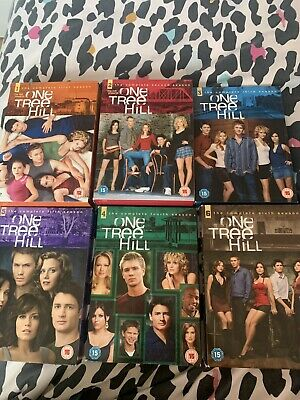 £8 • Buy One Tree Hill Boxset 1-6 Dvds