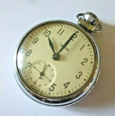 £6.85 • Buy Gent's Vintage 1960s Smiths Hand Winding Mechanical Pocket Watch