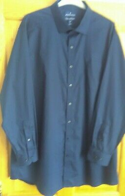 £9.99 • Buy Mens BUTTONED DOWN Tailored Fit Long Sleeve Cotton Shirt SZ 18.5 BN