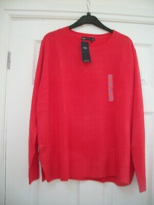 £4.99 • Buy M&s Size 22 Flame Jumper Supersoft Looks & Feels Like Cashmere