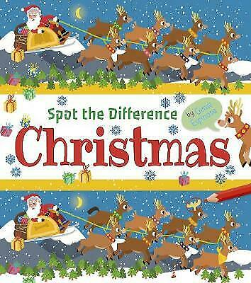 £6.99 • Buy NEW Spot The Difference Christmas Activity Book For Children Age 5+