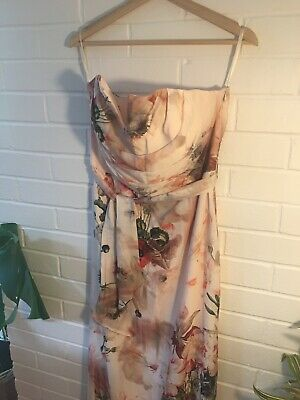 £35 • Buy Ted Baker Opulent  Bloom Maxi Dress Size 4 New With Tags