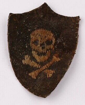 £3.52 • Buy Formation Patches SKULL & BONEs Badges SPECIAL Force SHOCK Troops WW1 WwI Or WW2
