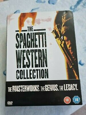 £8 • Buy Spaghetti Western Collection 6 DVD Boxset Rare Steel Tin Edition  Clint Eastwood