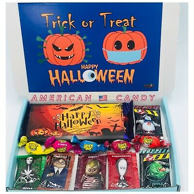 £4.99 • Buy Halloween Sweets Gift Box Hamper Novelty Wrapper American Sweets Adams Family
