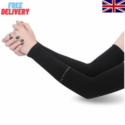 £2.88 • Buy 1 Pair Cooling Warmer UV Sun Protection Arm Sleeves Cover For Outdoor Sports