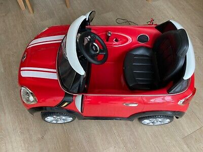 £50 • Buy Electric Ride On Mini Cooper, Red, Would Suit A Child Aged 2-5