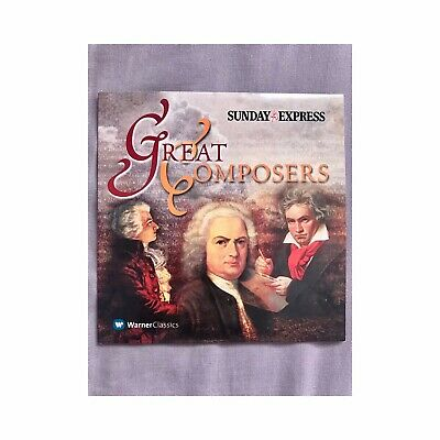 £1.20 • Buy Great Composers   Sunday Express Promotional Music CD   Album   Very Good   1x