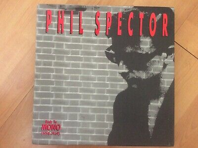 £37 • Buy Phil Spector 1991 Back To Mono (1958-1969) 4 CD Boxed Set With Book