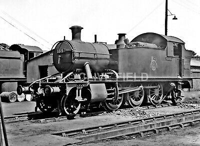 £2.50 • Buy Railway 6x4 Photo  5515  1950's.  (printed From  The Original Negative)