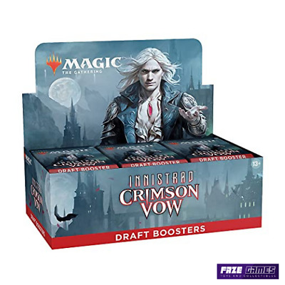 £109.95 • Buy MTG - Innistrad Crimson Vow - Draft Booster Box - NEW *PREORDER 19/11/2021*