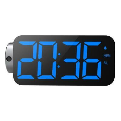 """AU45.75 • Buy Alarm Clock Projection On Ceiling W/ Large 7"""" LED Display & Dimmer 180°Projector"""