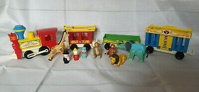 £44.99 • Buy Vintage 1970s Fisher Price Circus Train Rare  Complete Set
