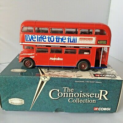 £39 • Buy Corgi The Connoisseur Collection Limited Edition AEC Routemaster Metroline Bus.