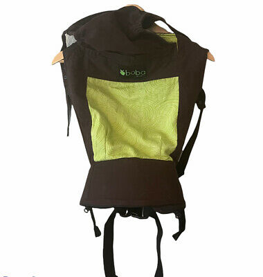 £25.60 • Buy Boba Organic Baby  Carrier 3G Multiposition Infant Brown Green