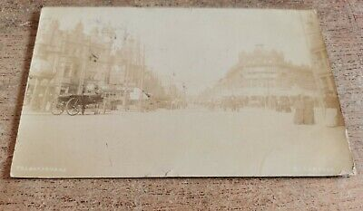 £3 • Buy Talbot Square, Blackpool. Antique Photographic Postcard Used 1907