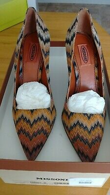 £80 • Buy Missoni Shoes Size 6 Classic Style - 4 Inch Heel