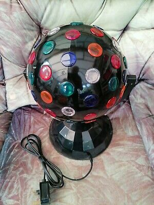 £4.99 • Buy Pro Sound L40AF Rotating Disco Ball 8''  Multi Coloured Party Light