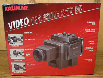 £5.78 • Buy Kalimar Video Transfer System W/ Bulit-In Stereo Cassette Player & Sound Mixer