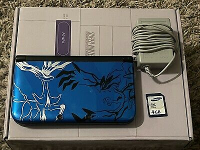 $157.50 • Buy VERY RARE Nintendo 3DS XL Pokemon X And Y Limited Edition XY Blue Console 4GB