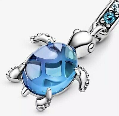 £10.99 • Buy 🌊Sterling Silver 925 Stamped Sea Turtle Charm Comes With Velvet Bag🌊::