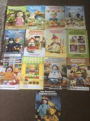 £0.99 • Buy Bundle Of Jean Greenhowe Pattern Books. Knitting. 13 Book With Multiple Patterns